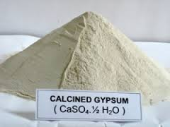 purified gypsum